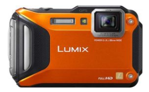 Best Camera Panasonic Lumix DMC-FT5 Front