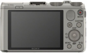Best Camera Sony Cyber-Shot DSC-HX50V Rear